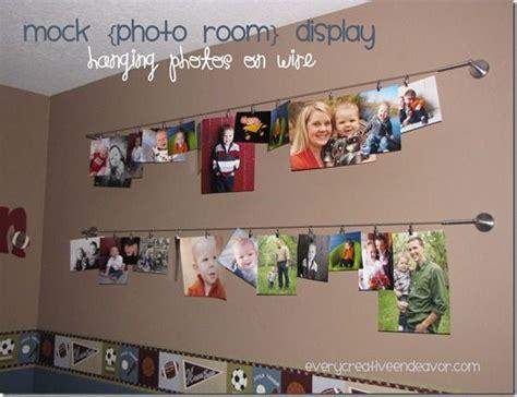 hanging photos on wire hanging photos on wire home decor wall
