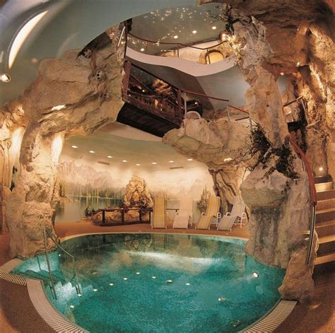 cave house with cave pool omg house ideas