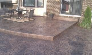 layout flat stone patio  concrete patio design sterling hts mi concrete patio michigan