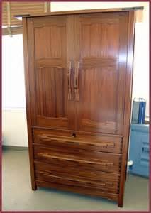 Dresser Or Armoire by Voorhees Craftsman Mission Oak Furniture Item