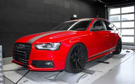 Audi S4 Ps by Mcchip Dkr Audi S4 Avant Tuned To 422 Ps