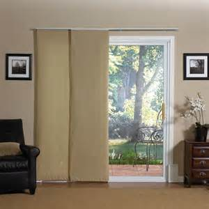 Curtains For Sliding Glass Doors With Vertical Blinds Anyone Have A Sliding Glass Door Without Vertical Blinds