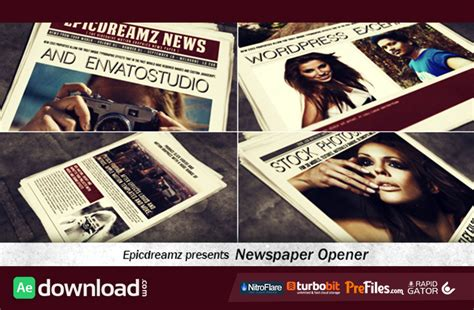 news promo archives free after effects template