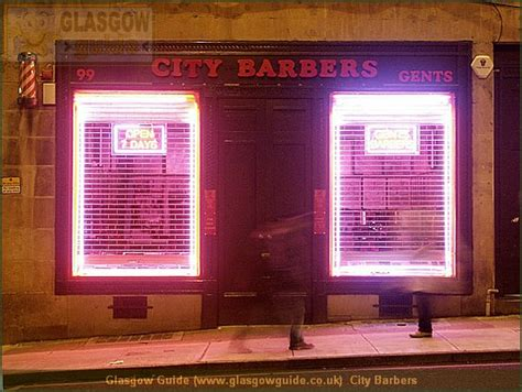 barber glasgow city centre glasgow guide glasgow images glasgow at night city barbers