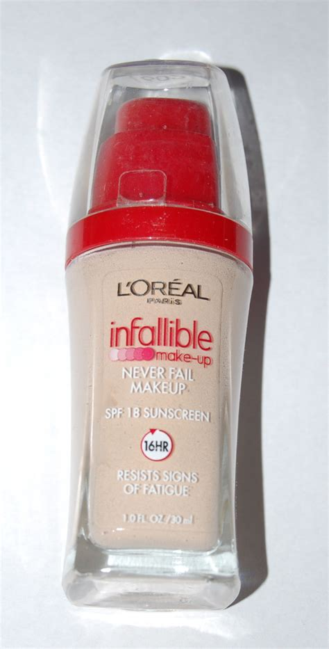 L Oreal Infallible Liquid Foundation l oreal infallible never fail makeup foundation mugeek