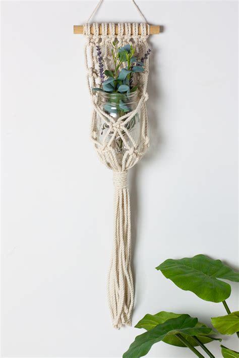 diy hanging macrame planter why don t you make me