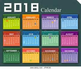 Calendar 2018 Wallpaper 2018 Calendar Stock Photos 2018 Calendar Stock Images
