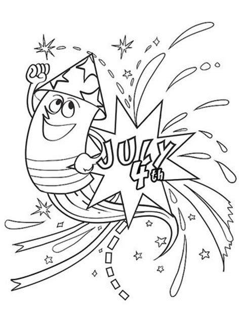 bottle rocket coloring page printable summer coloring pages