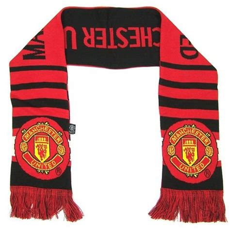 knitting pattern manchester united scarf manchester united 2014 bar scarf buy online in uae