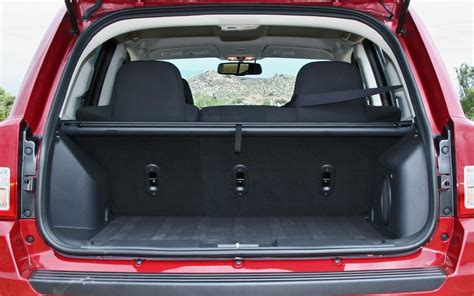 Cargo Space Jeep Cargo Space In Jeep Compass