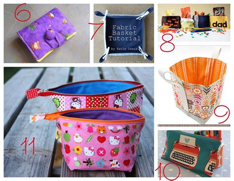 Handmade Sewing Ideas - 11 appreciation gifts to sew great day