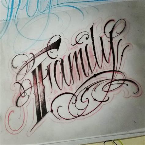 family tattoo lettering designs caligrafia family pesquisa google designs tattoo