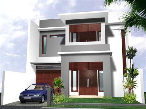 gambar desain rumah tingkat 2 minimalis modern gambar rumah minimalis 2015