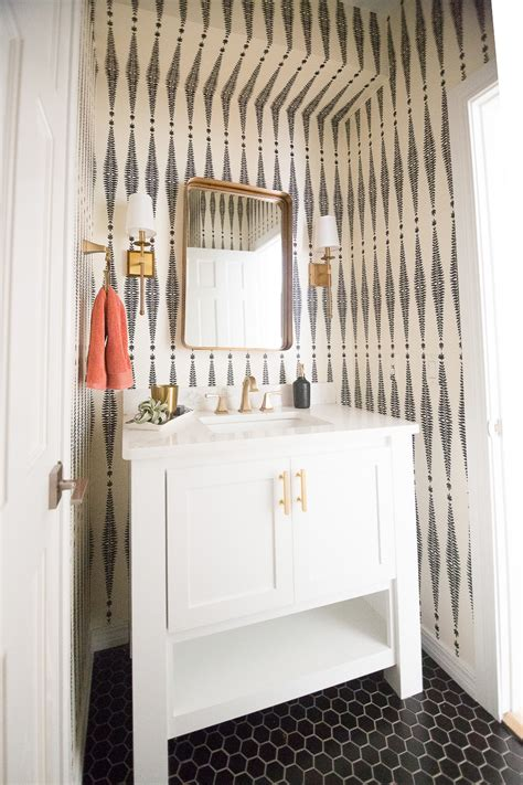 beautiful bathroom mirror ideas to try home design articles beautiful ideas for how to use wallpaper in modern home decor