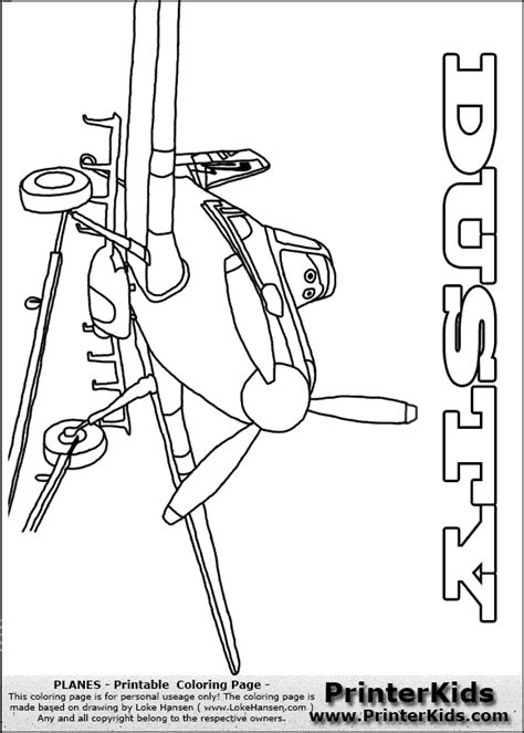 Pixar Planes Coloring Pages dusty planes free colouring pages