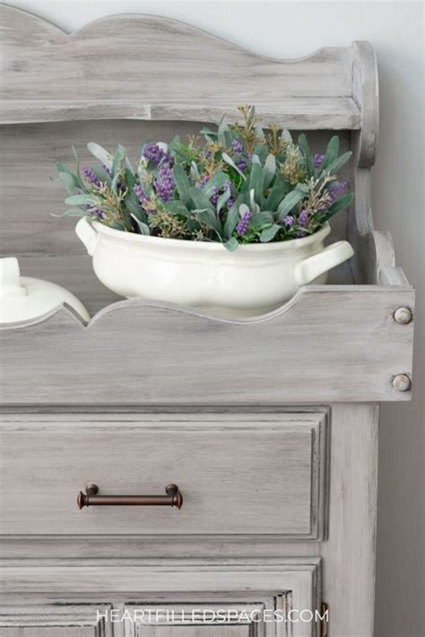 refinished dry sink  chalk paint heart filled spaces