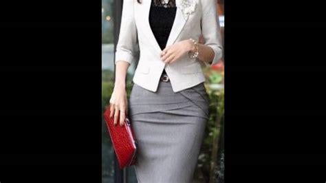 moda 2016 traje formal dama elegantes outfit ropa formal para dama youtube