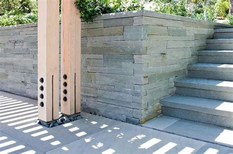 post detail misc house ideas pinterest wooden columns and steel joint on foundation wood steel