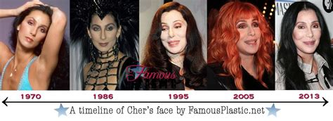 cher through the years photos abc news celebrities for celebrity plastic surgery cher www