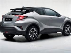 Toyota Hrv Spied 2017 Toyota C Hr Bound For 2016 Geneva Motor Show