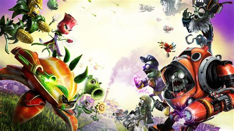 wallpaper plants  zombies garden warfare  hd