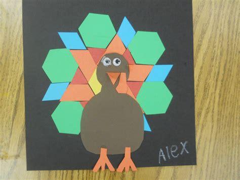 pinterest pattern block turkey mrs t s first grade class pattern block turkeys