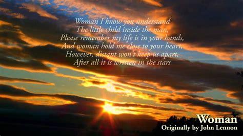 John Lennon - Women (with lyrics) (1980) [HIGH QUALITY