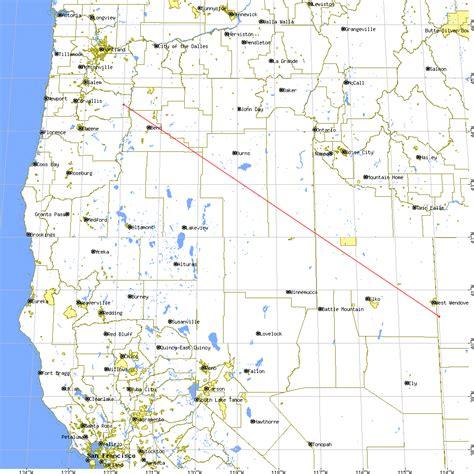 california map latitude longitude genesis reentry science mission directorate