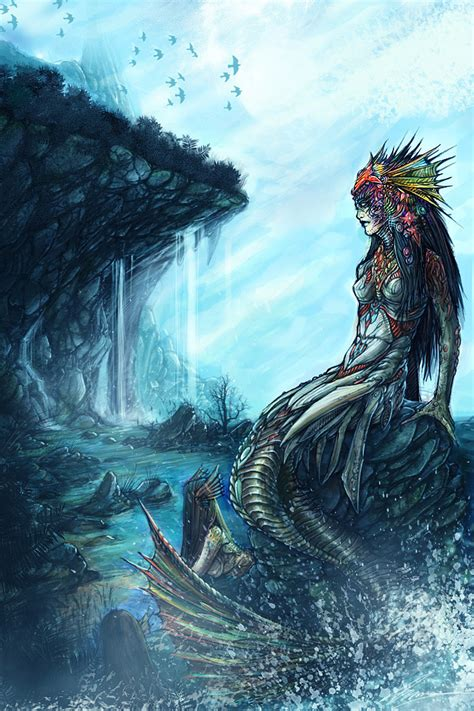 inspirational mermaid conceptual artwork 1 design