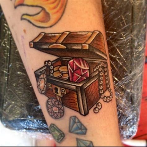 treasure chest tattoo 17 best ideas about chest on