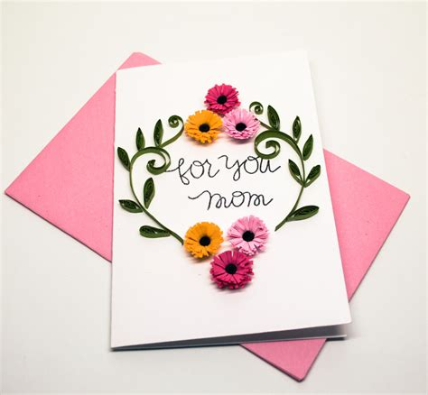 Buy Handmade Cards - buy beautiful handmade quilling flower card seni hiburan
