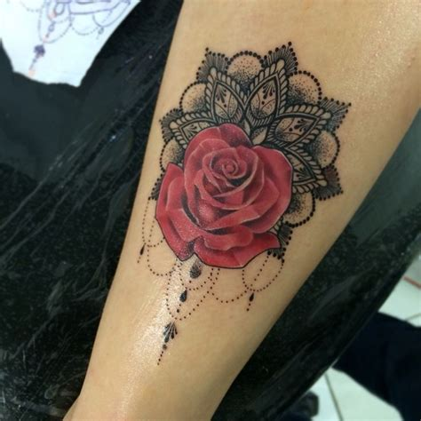 rose and pearl tattoo best 25 with name ideas on