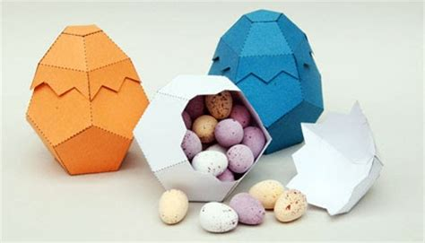 Easter 2011 Egg Box Papercraft Paperkraft Net Free Papercraft Paper Model Papertoy Egg Packaging Template
