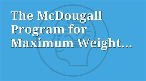 Maximum Loss by Maximum Weight Loss Diet Review Consumerscompare Org