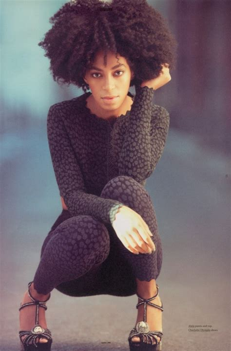 Solange Knowles Natural | june natural woman of the month solange knowles