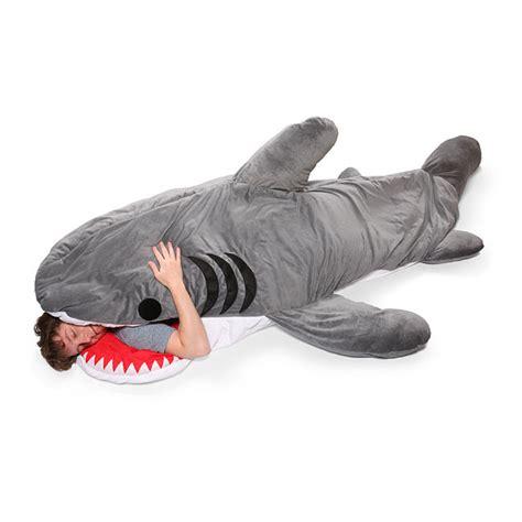 chumbuddy shark sleeping bag green head