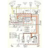 1957 Bus Wiring Diagram  TheGoldenBugcom