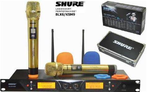 Mic Wireless Shure Blx6 Ksm9 dinomarket pasardino microphone wireless shure china new 100