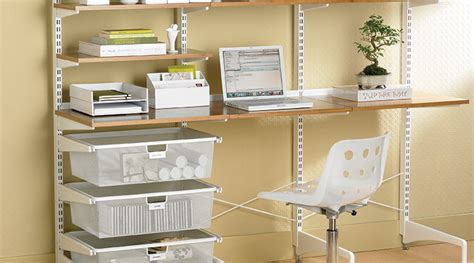 container store desk organizer smart home office organization tips public storage blog