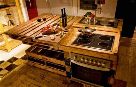 wooden pallet for kitchen great use for utensils pallets designs