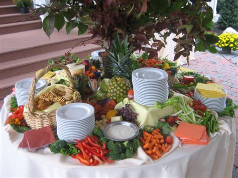 Appetizer Table d j catering photo gallery