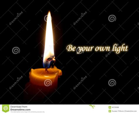 your own light be your own light stock photo image 46720588