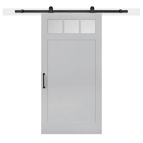 Jeff Lewis Barn Doors by Jeff Lewis 42 In X 84 In Gray Geese Craftsman Privacy 3