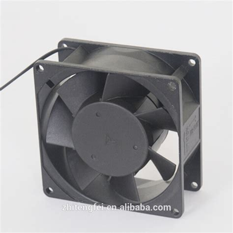 small fans 120v high air flow ac fan 92x92x38mm portable ventilator price