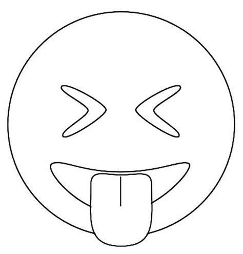 imagenes de emojis para dibujar dibujos faciles de colorear