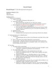 Proposal outline proposal outline examples project proposal writing