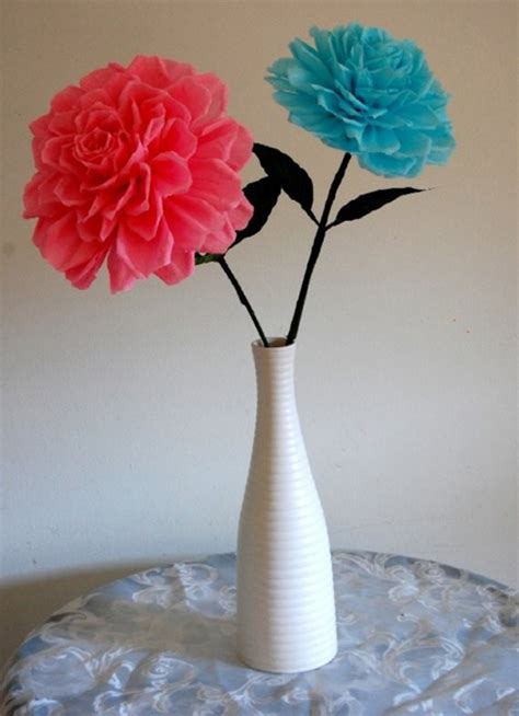 Beautiful Handmade Paper Flowers - unique handmade paper flowers creation