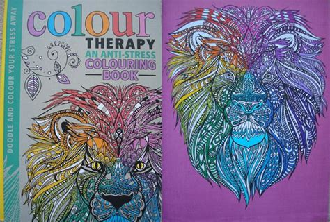 Colour Therapy An Anti Stress Colouring Book A Review Color Therapy Coloring Book