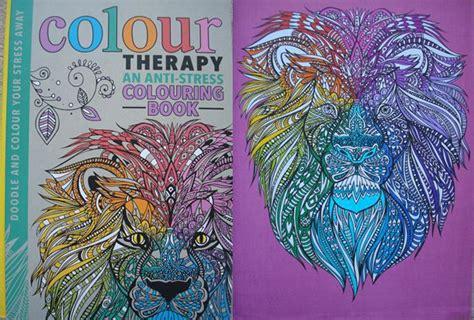 anti stress coloring book therapy colour therapy an anti stress colouring book a review