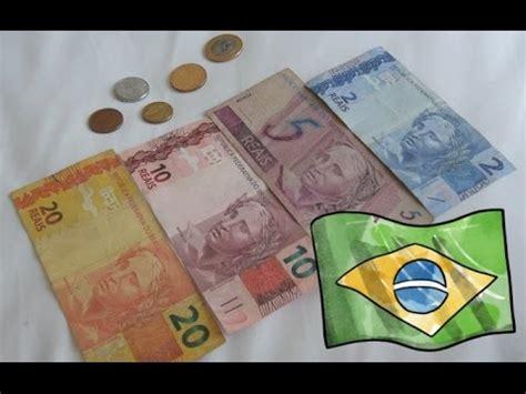 moneda de brasil dinero brasile 241 o monedas y billetes de brasil youtube